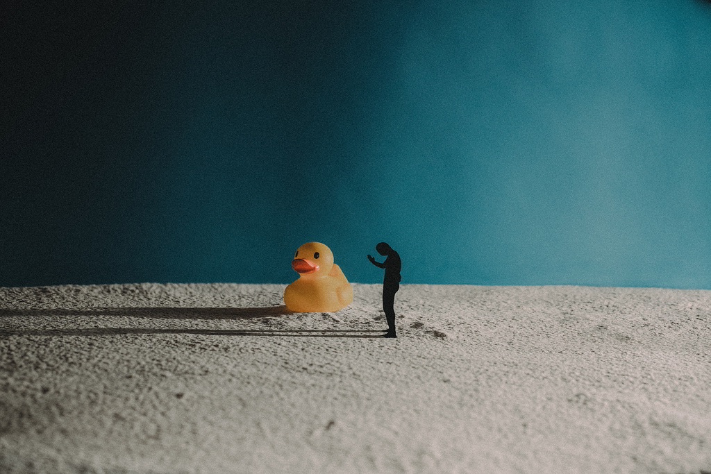 The duck god
