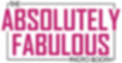 New Absolutely Fabulous Photo Booth Logo