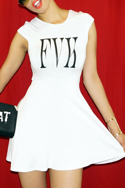 White FVK Dress