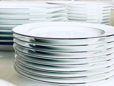 Tableware from Bernardaud