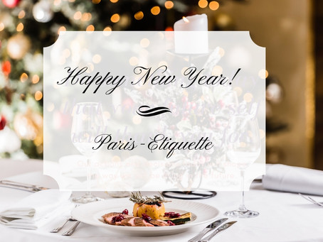 Paris-Etiquette wishes you a Happy New Year!
