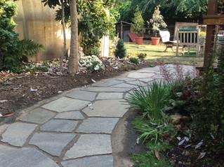 Traditional Flagstone Walkway _ Cedar & Stone