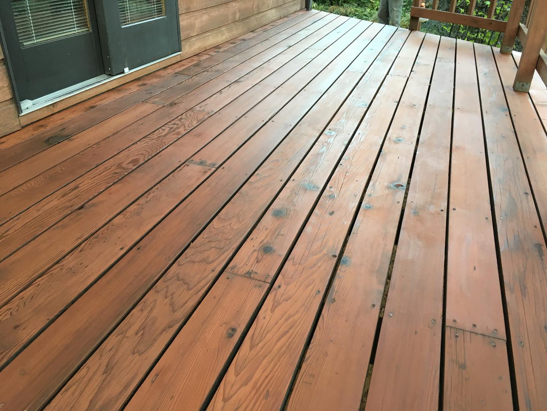 Custom Wood Deck