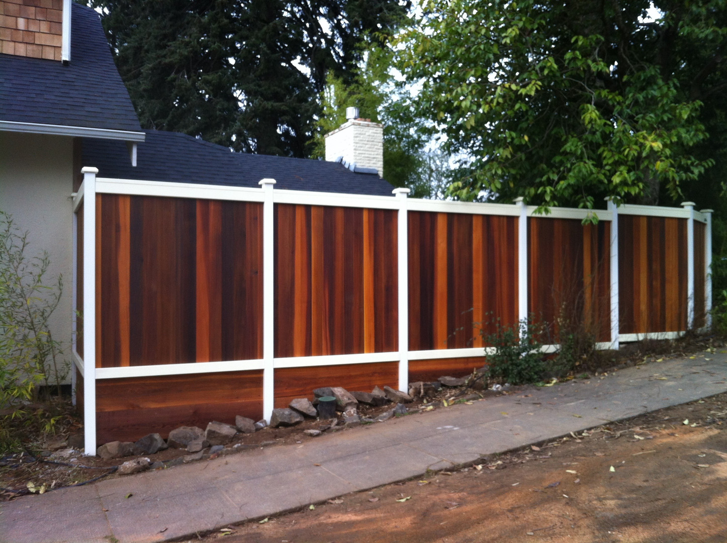 Custom Tongue & Groove Fencing 2