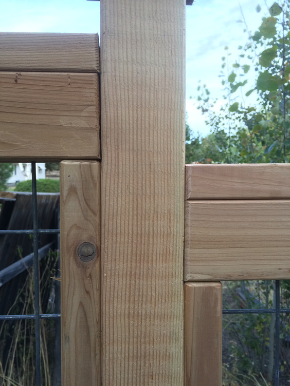 Wire Grid Fence Jointing