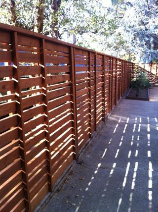 Custom Custom Cedar Fencing _ Cedar & Stone