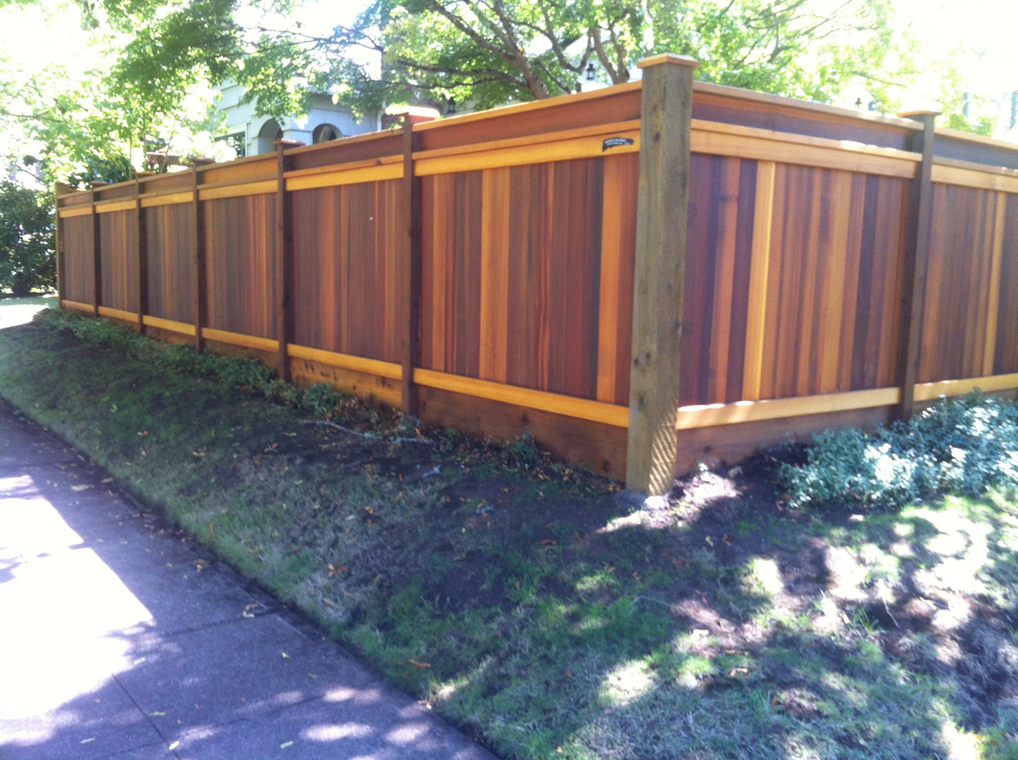Tongue & Groove Fencing with Cap