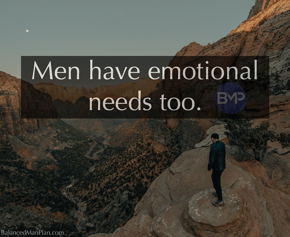 men have feelings too