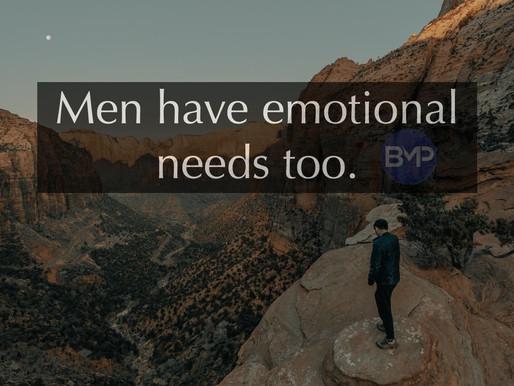 Men Have Feelings Too: Manhood in Modern Society