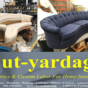 """Upholstery """"Before & After"""""""