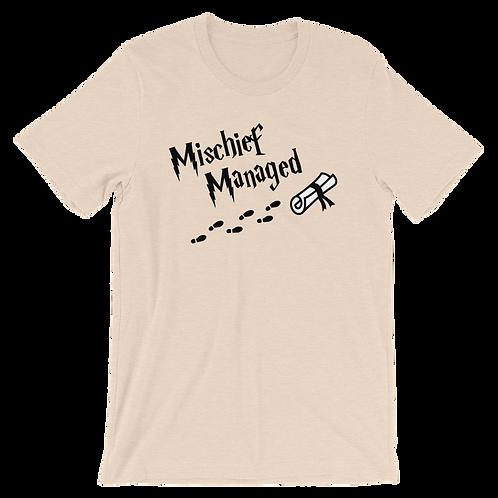 Mischief Managed - Short Sleeve T-Shirt (light)
