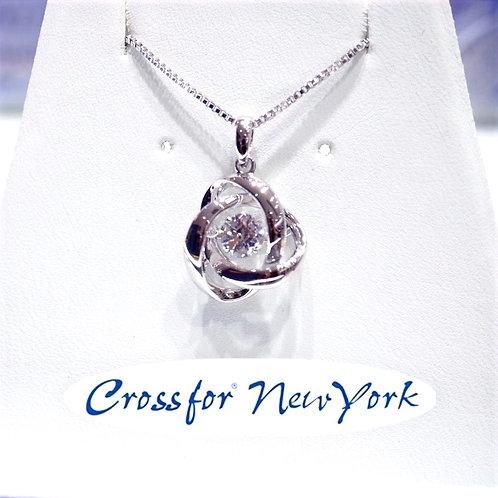 日本Crossfor - 玫瑰花閃動頸鏈