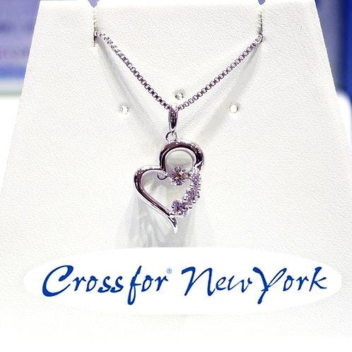 日本Crossfor - 愛心閃動頸鏈