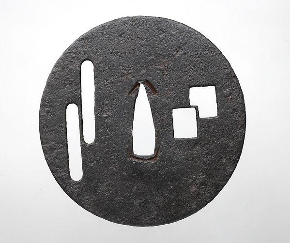 古刀匠鐔, Ko-tosho, tsuba