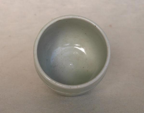 李朝白磁染付牡丹文杯, 朝鮮美術, Korean Art, 陶磁器
