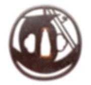 肥後鐔, 神吉正忠, Higo tsuba, Masatada Kamiyoshi