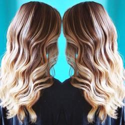 Full highlight and lowlight Blonde
