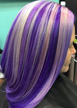 Unicorn haircolor