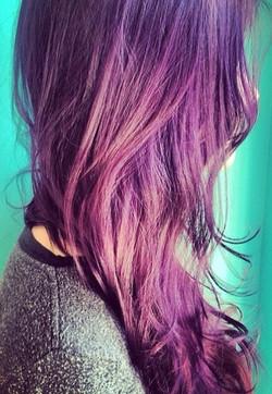 Lavender haircolor