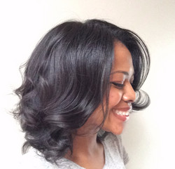 Blowout and curl
