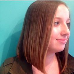 blunt bob haircut