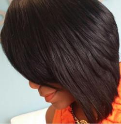 Texturized Bob haircut