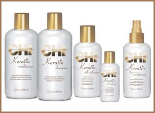 CHI Keratin Hair Care Line