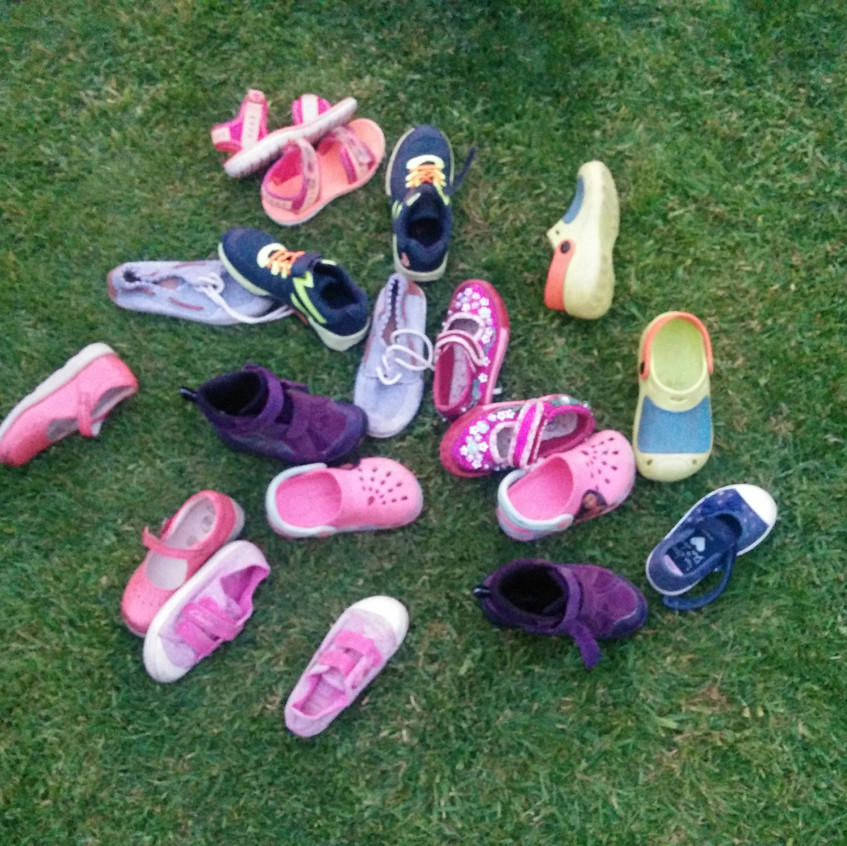shoes - sponsored walk may 18