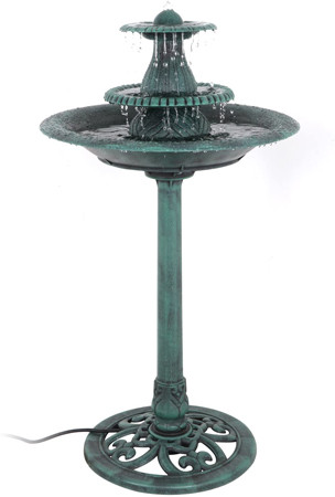 Standup Birdbath Fountain