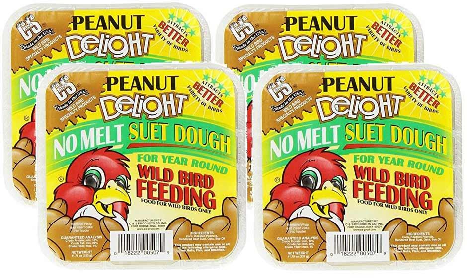 C&S  Peanut Delight Suet - 4 Pack