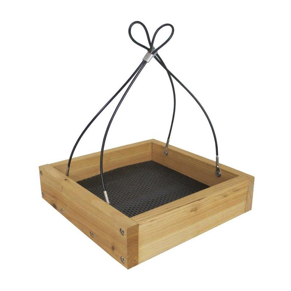 Cheap Platform Feeder Recommendation: Wild Wings Cedar Tray Bird Feeder