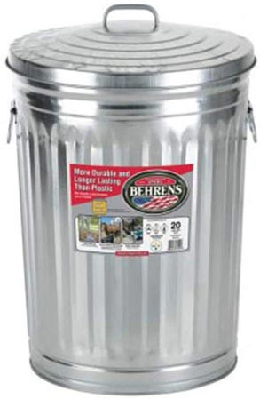 Best Birdseed Storage: 20 Gallon Metal Birdseed Storage