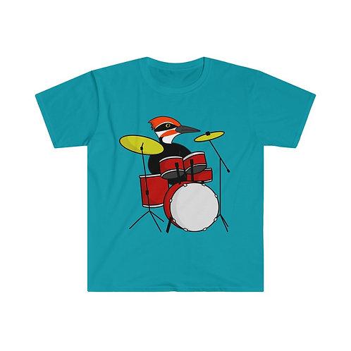 Drumming Woodpecker Unisex T