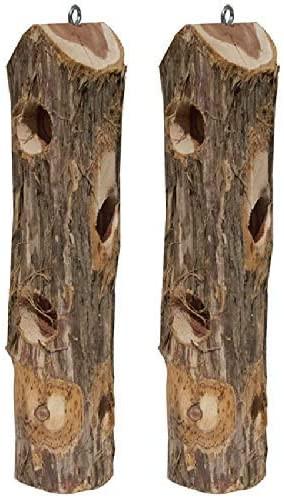 Vertical Suet Log 2-pack