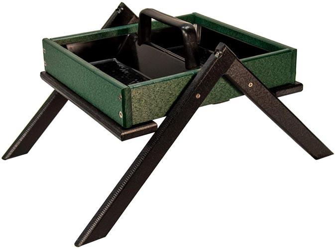 JCs Wildlife Ground Bird Feeder with removable tray (Amazon)
