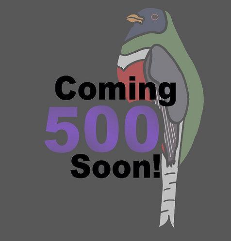 Birding Stickers - 500's