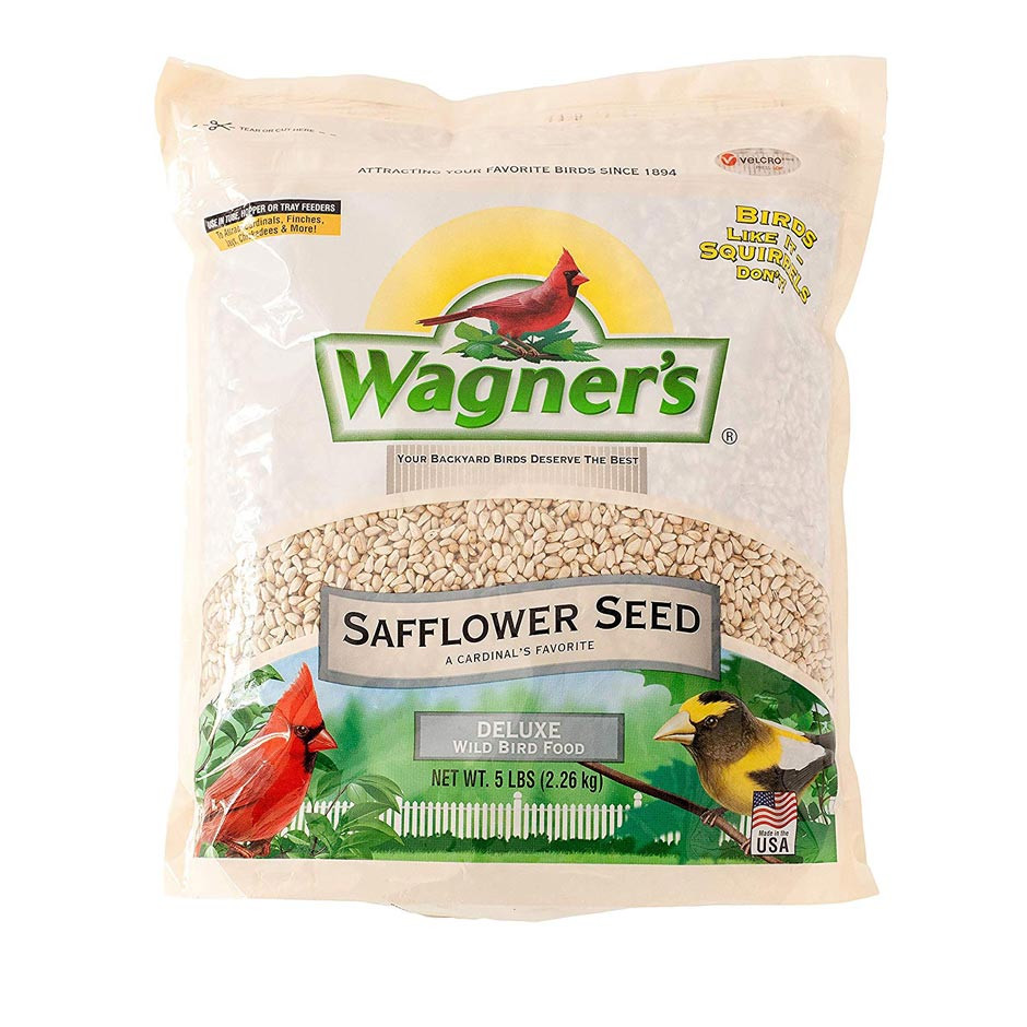 Wagner's Safflower Seed - 5 lbs