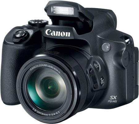 Canon Powershot SX70 for birdwatching and wildlife