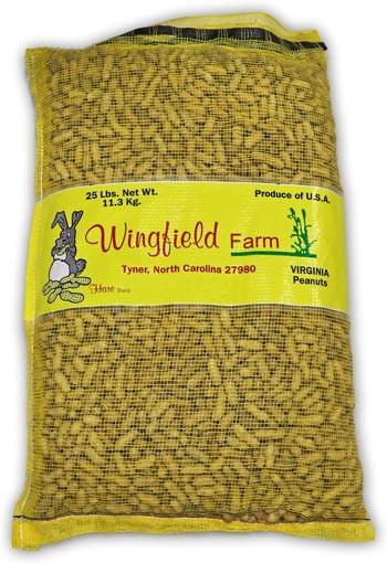 Winfield Farm In Shell Peanuts - 25 lbs
