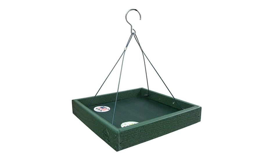 """Best """"Flocking"""" Feeder Recommendation: Woodlink Going Green Platform Bird Feeder"""