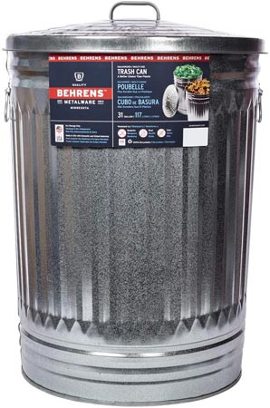 Best Birdseed Storage: 32 Gallon Metal Birdseed Storage