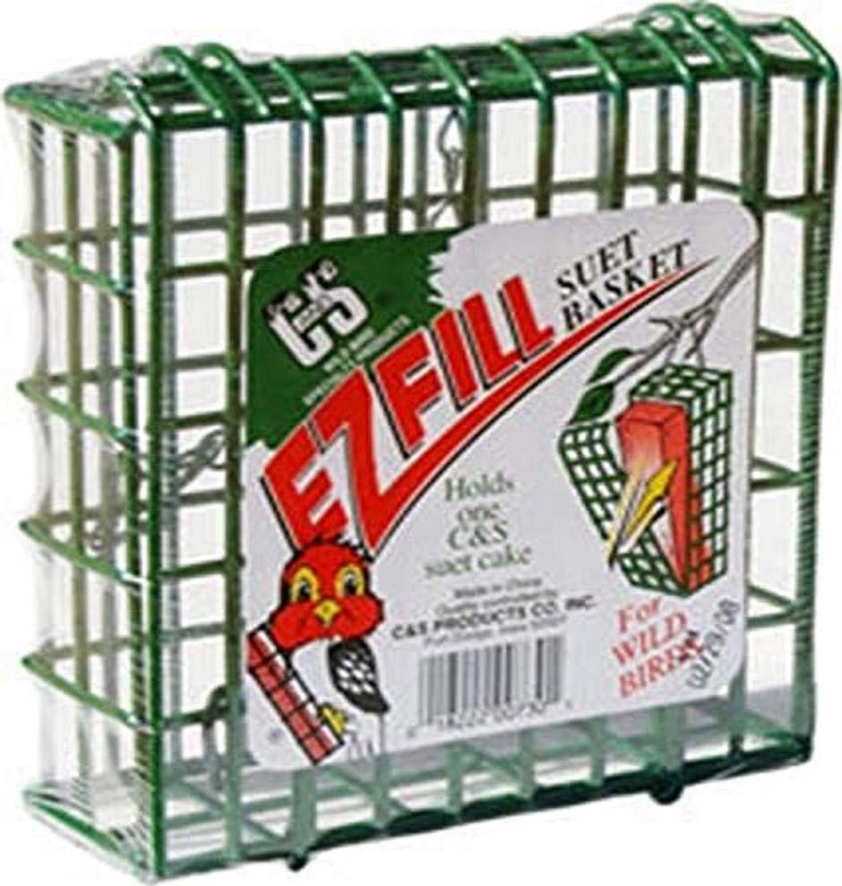 Suet Feeder Recommendation: C&S EZ Fill Suet Basket