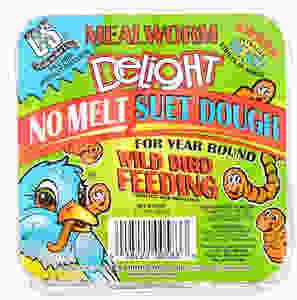 C & S Mealworm Delight Suet - 4 Pack