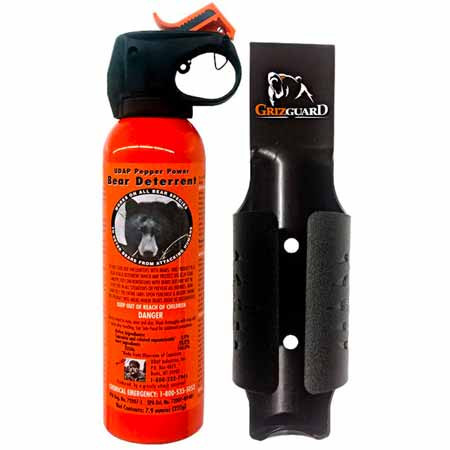 UDAP Bear Spray with Quick Holster from Amazon