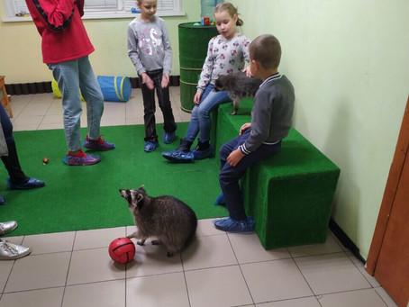 Дети посетили Хижину Енота