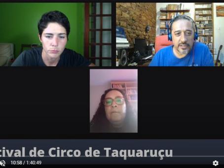 Rede Circo do Mundo Brasil reúne pesquisadores em debates ao vivo no 7° FCT