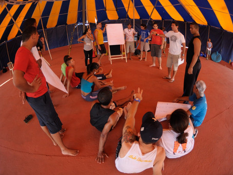 Rede do Circo do Mundo Brasil estreia formações online no 7º Festival de Circo de Taquaruçu
