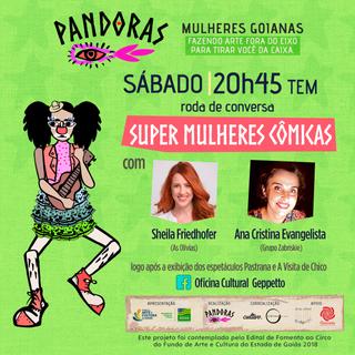 Super mulheres cômicas, com Sheila Friedhofer e Ana Cristina Evangelista
