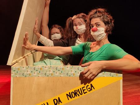 PANDORAS encerra turnê nacional de circo feminista em Itaparica