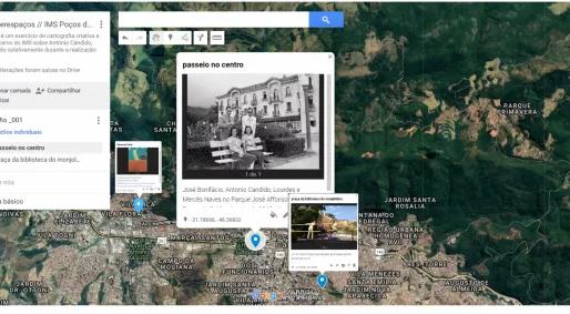 IMS Poços e ONG Casa da Árvore promovem oficina de cartografia inspirada em Antonio Cândido